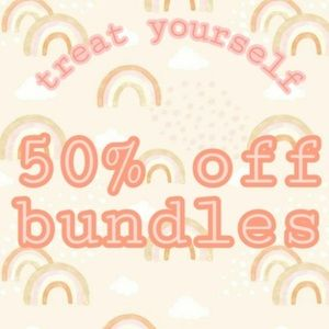 50% off bundles of 2 or more!